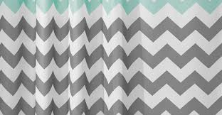 Gray Chevron Shower Curtain Curtains 17 Best Ideas About Green Shower Curtains On Pinterest