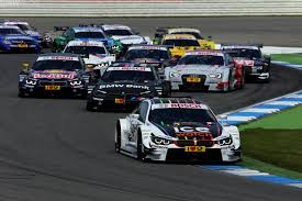 bmw car race historic victory in hockenheim for bmw m4 dtm in race
