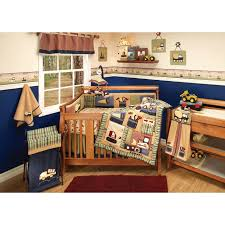 Construction Crib Bedding Set Eddie Bauer Builder Baby Boy Nursery Bedding