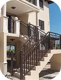 Porch Stair Handrail Exterior Stair Railings U2013 Avion Metal Works Of Florida