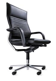 Executive Office Chairs Fabric Traditional Executive Chair Leather Chromed Metal Swivel