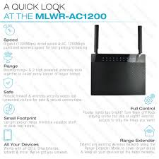 shop new medialink ac1200 wireless gigabit router mediabridge