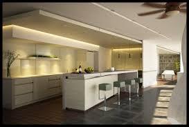 Kitchen Luxury Design White Interior Kitchen Design With Awesome Mini Bar Plus Charming