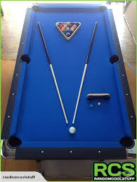How To Clean Pool Table Felt by 8ft Pool Table Blue Felt Woolly Superior Felt Trade Me
