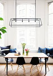 dining lighting interesting modern dining room lighting design a window ideas by