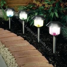 solar powered lights outdoor as outdoor light fancy outdoor patio