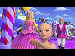 barbie pink shoes short movie christmas special deutsch