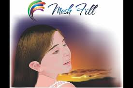 how to use mesh fill corel discovery center