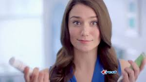 colgate commercial actress crest 3d white whitening therapy tv commercial whitens and