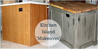 Make A Kitchen Island Kitchen Island Makeover Tempting Thyme