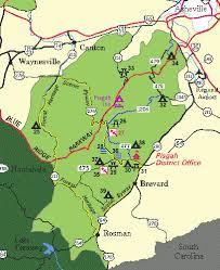 carolina national forests pisgah pisgah district facilities