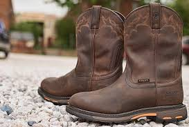 Comfortable Brown Boots Top 5 Best Pull On Work Boots For A Comfortable And Effortless