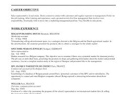 marketing resume objectives exles cv objective exles sales resume sle associate exles templates