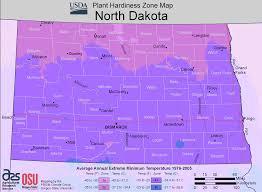 Growing Zone Map North Dakota Plant Hardiness Zone Map U2022 Mapsof Net