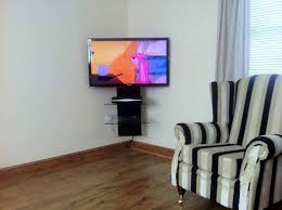 Interior Design Tv Wall Mounting by Best 25 Corner Tv Wall Mount Ideas On Pinterest Corner Tv