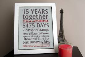 15 year anniversary gift ideas for him diy wedding anniversary gift ideas for him anniversary