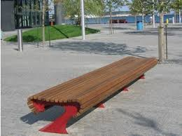 Landscape Timber Bench Divano Bench By Metalco Design West 8 Urban Design U0026 Landscape