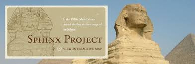 the great sphinx who built it and when lehner ancient