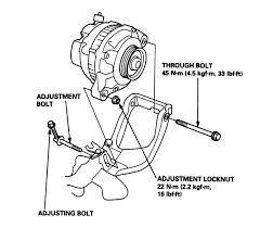 1997 accord v6 power steering u0026 alternator belt r u0026r honda accord