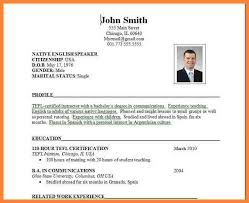 How To Create Job Resume by 13 How To Make Cv For Teaching Job Bussines Proposal 2017