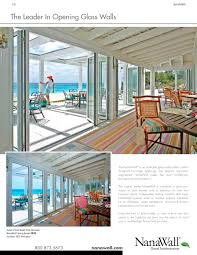 Folding Exterior Patio Doors by Architecture Extraordinary Glass Wall System Design By Nanawall