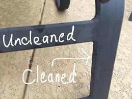 How To Clean Patio Furniture cleaning aluminum patio furniture crapsmanship