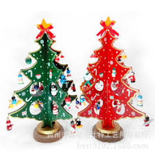 discount mini wooden tree decorations 2018 mini wooden