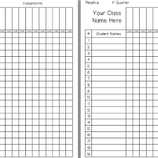 classroom freebies printable grade book intended for teacher
