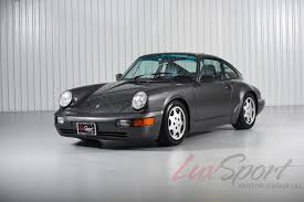 porsche slate grey 1990 porsche 964 carrera 4 coupe stock 1990128 for sale near new