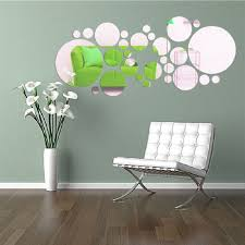 ikevan 1 set 27 pcs acrylic art modern 3d mirror round wall ikevan 1 set 27 pcs acrylic art modern 3d mirror round wall stickers diy home wall room decals decor sofa tv setting wall removable wall stickers
