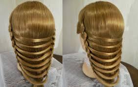 download hairstyle tutorial videos причёска техника плетения мостик braids womanbeauty1 and
