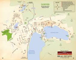 Map Guest Grand Lake Town Map Free Guestguide Publications Grand County