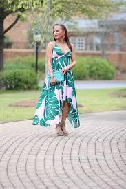 express dress express palm print dress to the nines