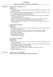 piping design engineer job description piping design engineer resume sles velvet jobs