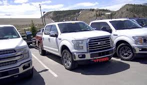 ford hunting truck check out 2018 ford f 150 diesel prototypes tow testing in the