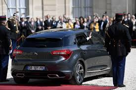 get to know the ds7 citroen crossback new french presidential car