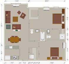 Color Floor Plan Virtual Tour Lester Senior Housing Community Floor Plans Senior