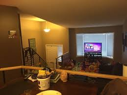 split level interior paint scheme
