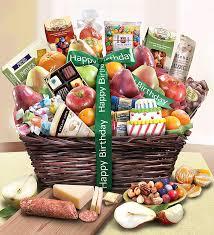 happy birthday gift baskets birthday fruit basket deluxe