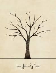 10 best images of print out blank family tree fingerprint family