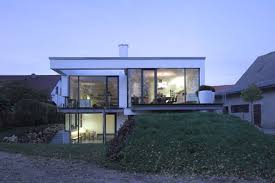 level house a split level house built in a difficult area of germany