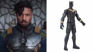 jaguar costume black panther toys reveal erik killmonger u0027s golden panther costume