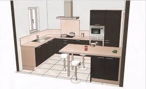 plan de cuisines plans cuisine en u plan de équipée pas cher pour un studio