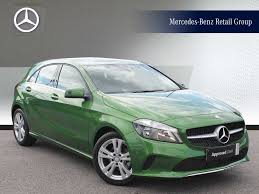 green subaru hatchback used mercedes benz a class green for sale motors co uk