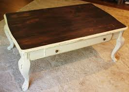 table white coffee table with wood top dubsquad
