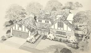 perfect english stone cottage house plans plan on small a in design