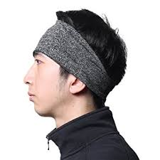hair bands for men headbands for men moisture wicking turban elastic no