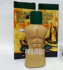 minyak lintah tapa herbal leech oil strong enlarge penis erection