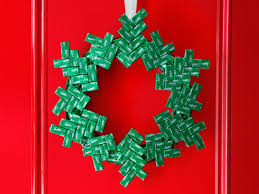 candy wreath wreath ideas food network recipes dinners and