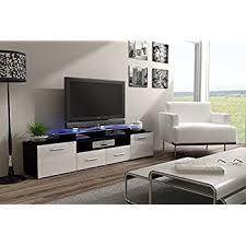 amazon com tv console milano classic white tv stand up to 70
